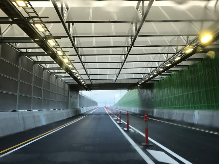 Dryandra Rd underpass almost compete