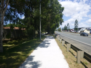 Recently renovated section of Salisbury Bikeway