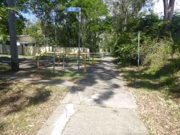 Older sections of the Salisbury Bikeway are in very poor condition.