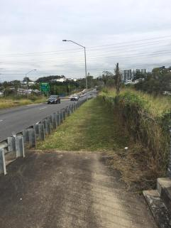 There is not even a sealed footpath along Miles Platting Rd, connection the Eight Mile Plains Station to Rochedale