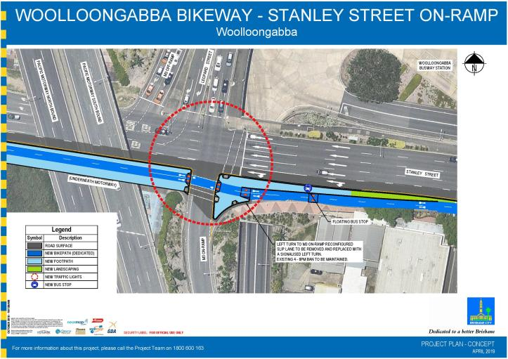 COMMUNICATIONS - Project plan - Stanley Street on-ramp - Woolloongabba Bikeway - 2019-page-001