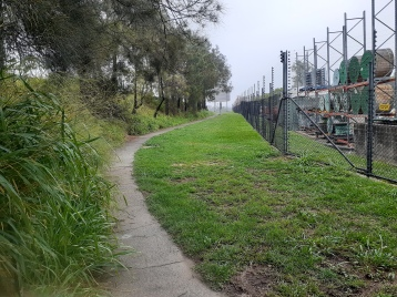 This footpath could be upgraded to a shared path