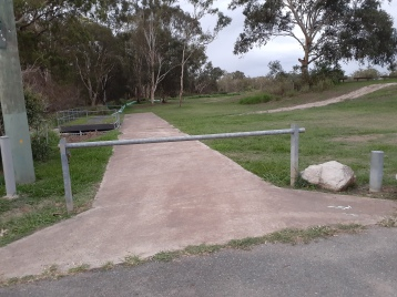 Sadly, no bikeway connection to Boondall