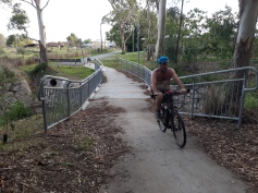 A new bridge at Cribb Ave connects into Moreton Bay Regional Council