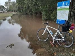 FloodedNormanCreekBikeway