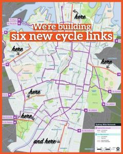 SydneyCyclePaths