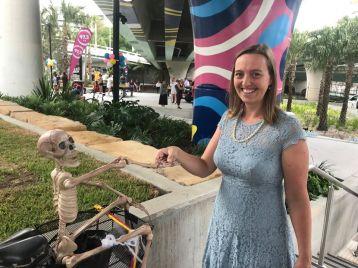 Brenda Bones met Greens Lord Mayoral candidate, Kath Angus